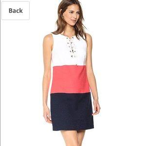 NWT TRINA TURK COLOR BLOCK DRESS